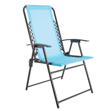 Patio Lawn Chairs Arboria Islander Folding Sling Patio Chair 880 1303 The Home Depot