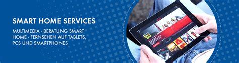 beratung smart home fernsehen auf tablets pcs und