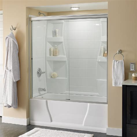 Shower Doors For Bathtubs Customize Shower Door