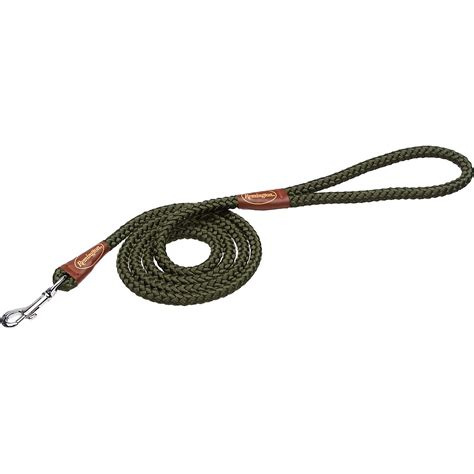 rope leash remington green rope snap leash petco