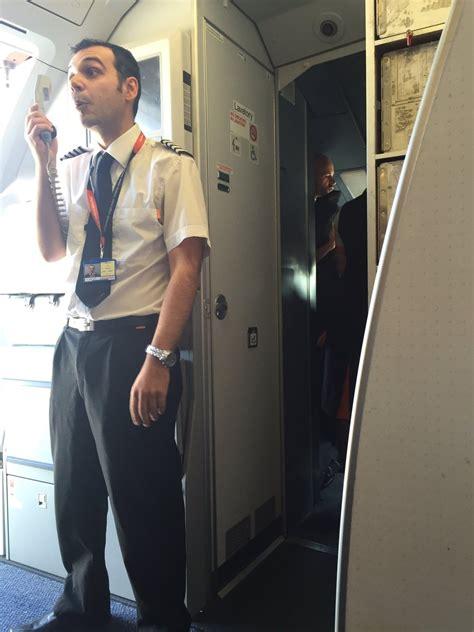 easyjet cabin easyjet flight delayed after cabin crew spat itv news