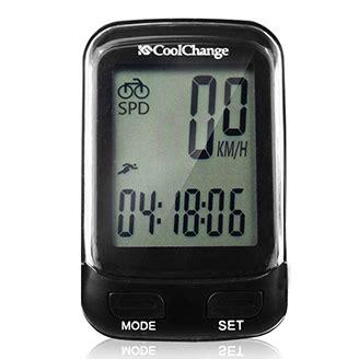 Gratis Ongkir Coolchange Bike Computer Odometer Speedometer Sepeda coolchange 57019 bicycle computer wireless waterproof speedometer odometer with lcd backlight