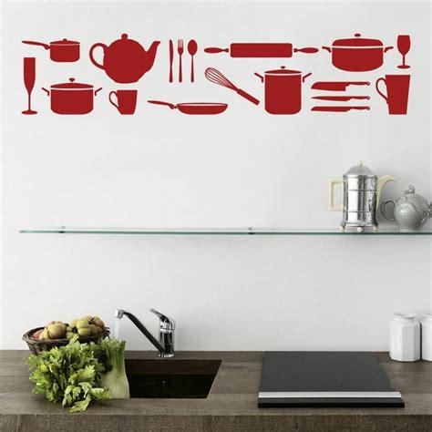 sticker deco cuisine d 233 co murale cuisine ou comment rendre sa cuisine plus