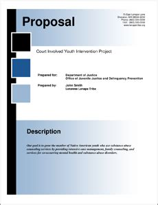 Federal Government Rfp Template Doj Federal Government Grant Proposal 5 Steps
