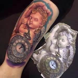angel child tattoo motive ideas tattoo designs