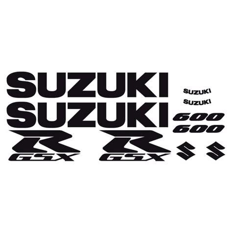 Suzuki Gsx R Aufkleber by Aufkleber Suzuki Modell Gsx R 600 2004