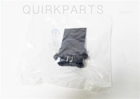 jeep kj blower motor resistor 02 06 jeep wrangler tj 02 07 jeep liberty kj a c blower motor resistor mopar ebay