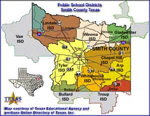 smith county map school districts in smith county