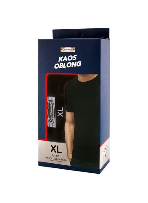 Kaos Dalam Oblong Pria 666 indomaret kaos oblong new hitam box extralarge