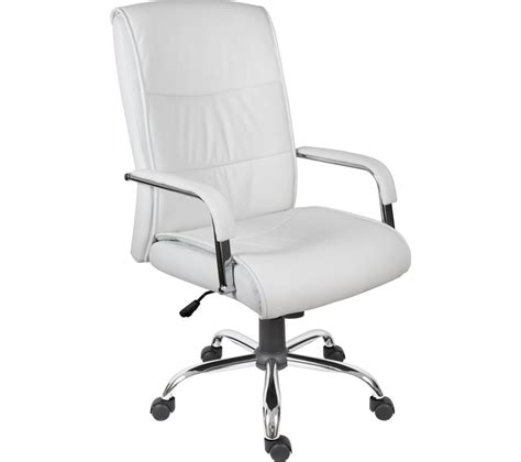 reclining executive chair review of teknik 6901wh faux leather reclining executive chair