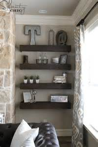 Living Room Wall Decor Shelves How To Get The Vintage Farmhouse Look Think Fixer