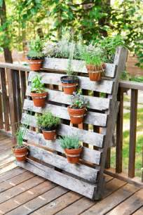 pallet wooden planter ideas 34 models to do yourself