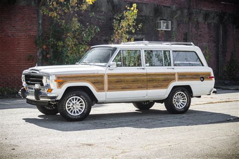 jeep grand modified modified engine 1989 jeep grand wagoneer for sale