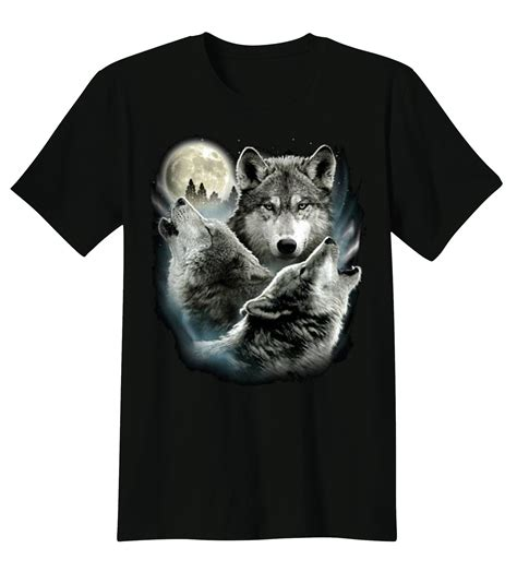 Wolf T Shirt Meme - t shirt custom design three wolf moon 3 wolves howling