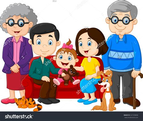 family clipart grandparents family clipart 53
