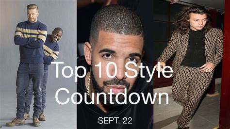 kevin hart harry top 10 style countdown for sept 22 w david beckham