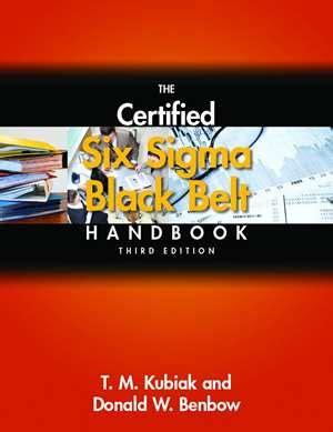 the certified six sigma black belt handbook 3rd edition