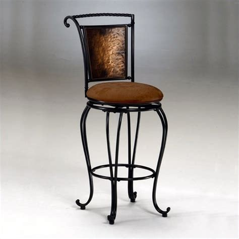 Copper Counter Stool by Hillsdale Milan 26 Quot Swivel Seat Counter Copper Bar Stool