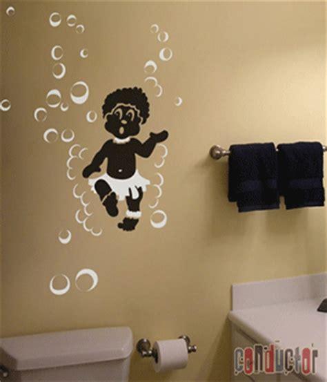 luxury design bathroom decals