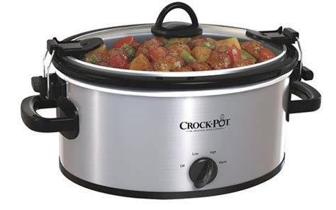 Promo Baby Safe Cooker Lb007 08 Liter Cooker 08l Terlari crock pot 4 quart oval cooker in stainless steel just 19 99 today only 8 16