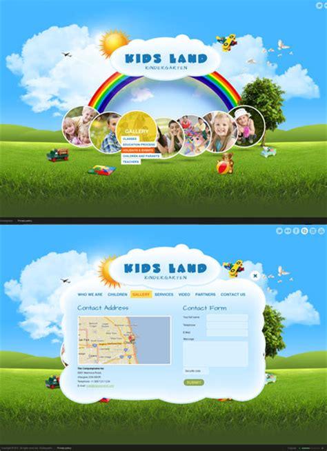website templates for kindergarten kindergarten html5 gallery admin template id 300111430