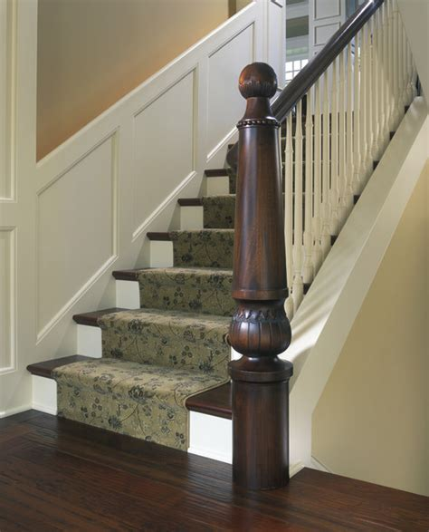Decorating A Banister Staircase Newel Post