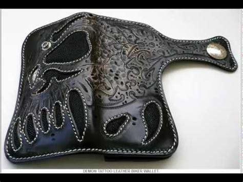 Handmade Biker Wallets - custom wallets handmade tooled harley motorcycle leather