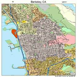 of california berkeley cus map berkeley california map 0606000
