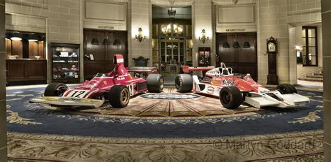 the automobile club of rush two 1970 s f1 cars at the royal automobile club pall mall london martyn goddard images
