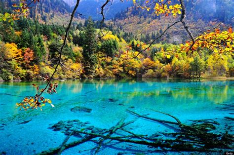 clearest lake in china facts this is the absolute bluest water in the world huffpost
