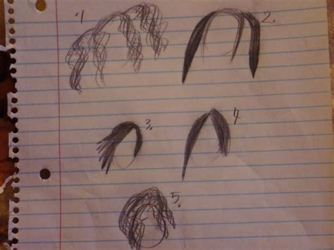 doodle hair do hair doodle which one do u like by legoninjagogirl on