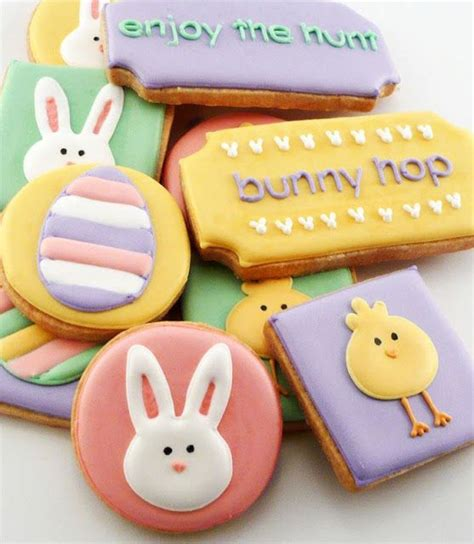 decorated easter cookies easter decorated cookies treats easter