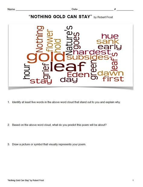 themes found in the outsiders poetry lesson quot nothing gold can stay quot by robert frost