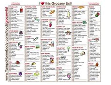 printable grocery list by aisle big list of printable grocery shopping lists big