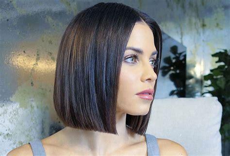 corte de pelo recto glass hair el corte de pelo que todas llevan esta temporada