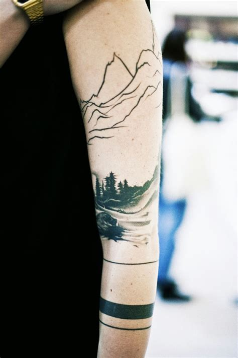 nature tattoos 45 relaxing nature ideas