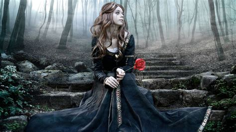 imagenes artisticas tristes young goth women portrait photography wallpapers on