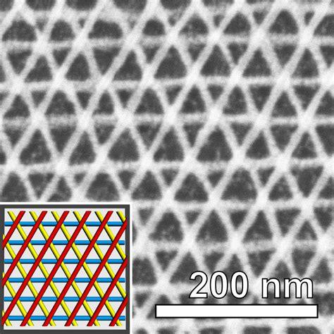 deep nanoscale sweeping lasers snap together nanoscale geometric grids