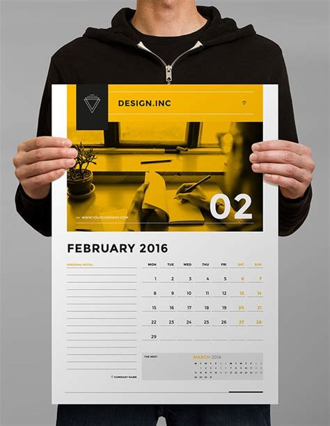 Calendar Layout Best 25 Calendar Design Ideas On Graphic