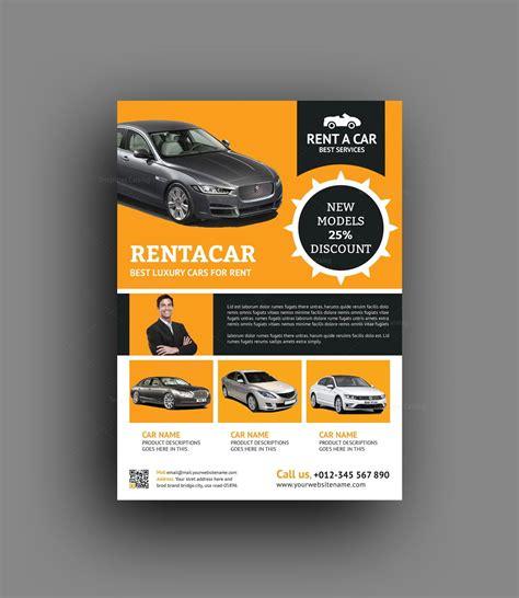 Rent A Car Flyer Design Template 001497 Template Catalog Flyers Design Templates