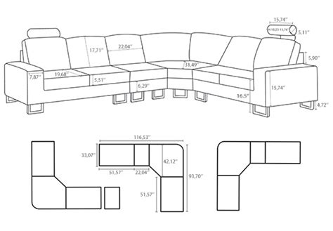 sectional sofas sizes sizes of sectional sofas dimensions of sectional sofa home