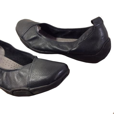 Comfortable Ballet Flats For Walking by Auditions Navy Blue Hillcrest Flats Flats On Sale