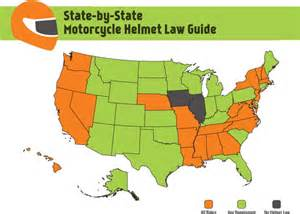 motorcycle helmet laws for pennsylvania and our