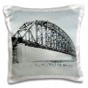 Walmart Pillows Decorative 3drose Mears Memorial Bridge At Tanana River Nenana