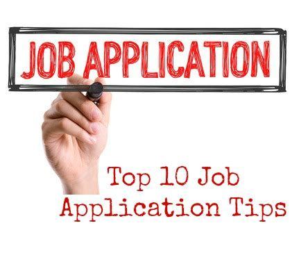job applications ppt tips authorstream
