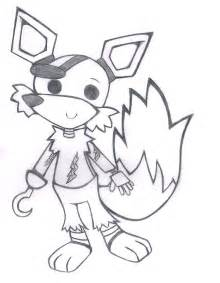Foxy the pirate sketch by tails224 on deviantart