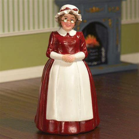 the dolls house emporium mrs claus standing figurine
