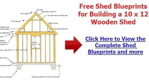 Free 10x12 Shed Plans Pdf by Storage Building Plans 10 215 12 Plans Free