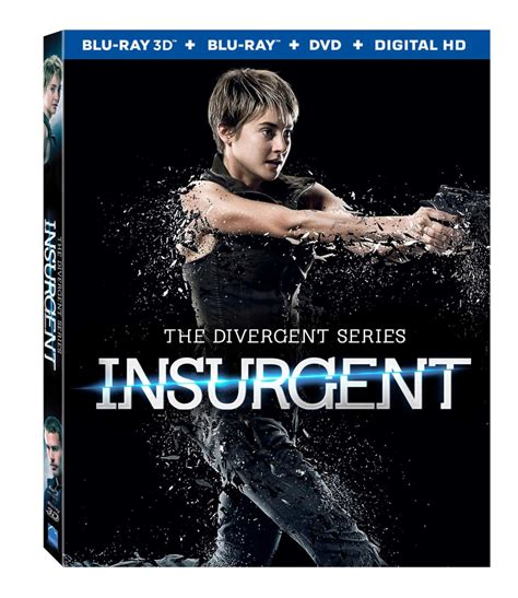 insurgent is out on 3 d and dvd august 4