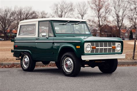 ford bronco celebrating 50 years of the ford bronco a continuous lean